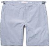 Orlebar Brown - Dane Striped Cotton-seersucker Shorts