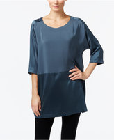 Eileen Fisher Silk Tonal Tunic