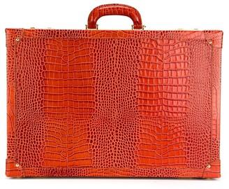 Family Affair crocodile effect sunglasses briefcase