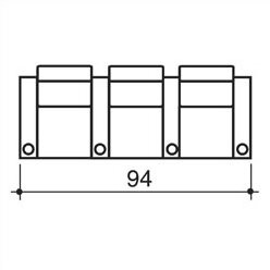 Bass Olympia Home Theatre Row Seating (Row of 3