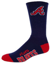 For Bare Feet Atlanta Braves Deuce Crew 504 Socks