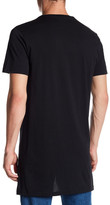 Topman Always Longline Graphic T-Shirt