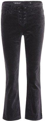 AG Jeans The Cody Crop Lace-Up trousers