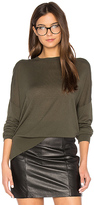 Theory Karenia R Sweater in Army