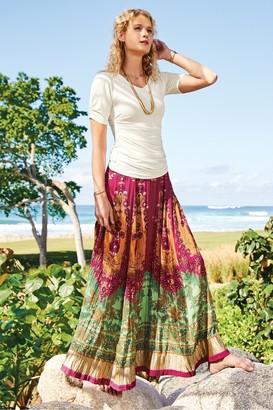 Soft Surroundings Petites Alfonso del Mar Skirt