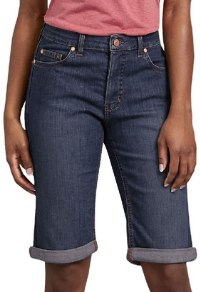 Dickies Women's Perfect Shape Bermuda Jean Shorts