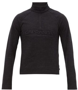 Capranea - Miller Half-zip Sweater - Mens - Black