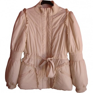 Manoush Beige Polyester Coats