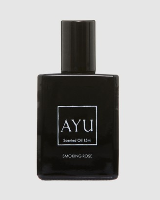 AYU - Women's Black Rollerballs & Travel Sizes - SMOKING ROSE Perfume Oil 15ml - Size One Size, 15ml at The Iconic