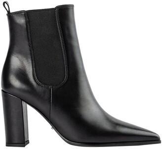 Tony Bianco Easton Black Como Ankle Boots