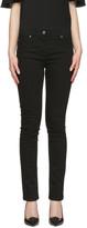 Versace Black Swarovski Medusa Jeans