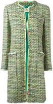 Etro tweed mid coat