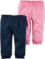 Carter's 2-pk. Navy Pants - Baby Girls newborn-24m