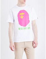 A Bathing Ape Logo-print Cotton-jersey T-shirt