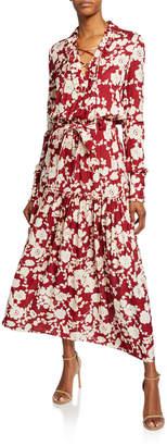 Alexis Ambrosia Floral-Print Long-Sleeve Dress