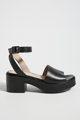 Seychelles Calming Influence Platform Sandals By in Black Size 8.5