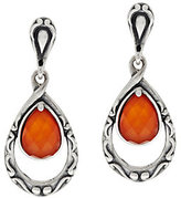 Mother of Pearl Carolyn Pollack Sterling Mother-of-Pearl Triplet Drop Earrings