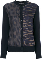 Salvatore Ferragamo animal print cardigan