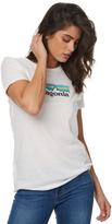 Patagonia Womens Pastel P-6 Logo White