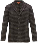 Barena Venezia - Torceo Checked Tweed Blazer - Mens - Navy Multi