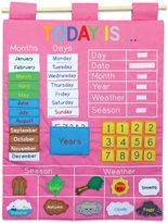 Alma's Designs Today Is Learning Wall Chart in Pink