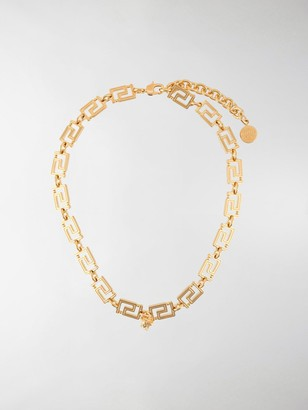 Versace Greca necklace