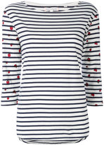Chinti and Parker Ladybird striped top - women - Organic Cotton - XS