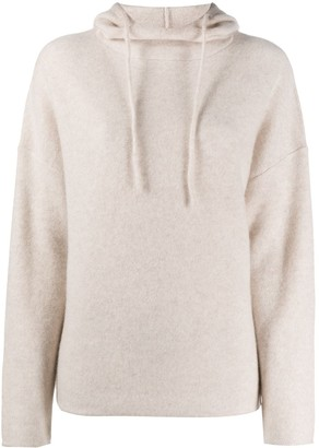 Vince Drawstring Hooded Sweater