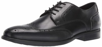 Kenneth Cole Reaction Men's Edge Flexible Wing Tip Lace Up Oxford
