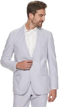 Kroon Men's Jack Active Inspired Movement Modern-Fit Seersucker Suit Coat