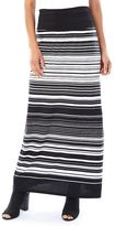 Women's AB Studio Striped Maxi Skirt