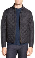 Barbour Men's 'Axle' Slim Fit Diamond Quilted Moto Jacket