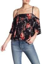 Anama Floral Cold Shoulder Top