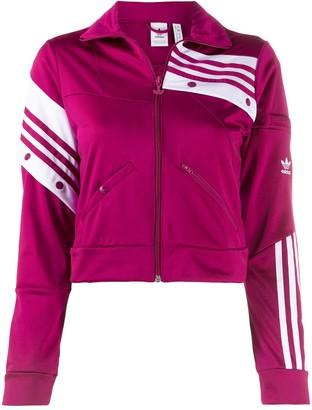 adidas Striped Details Sports Jacket