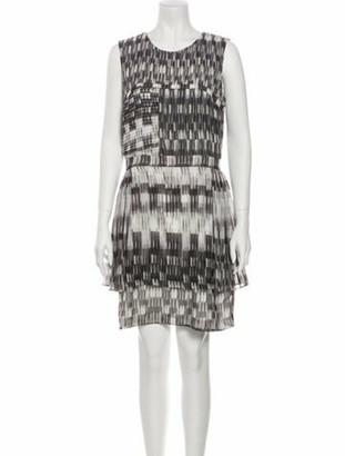 Thurley Printed Mini Dress Grey