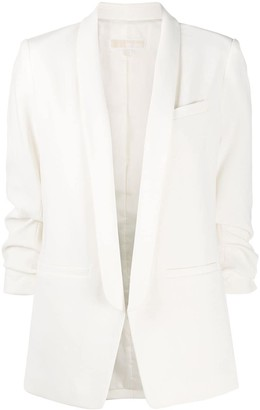 MICHAEL Michael Kors Open Front Tailored Blazer