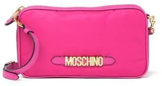 Moschino Quilted Bear Nylon Crossbody Bag