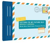 Chronicle Books Letters To My Future Self Weekly Agenda - Blue