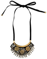 Marni Crystal Bib Necklace