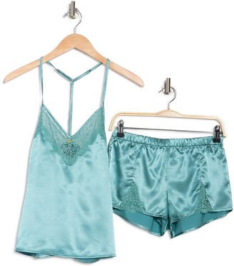 Cozy Rozy Madisson Night Satin Cami Pajama Set
