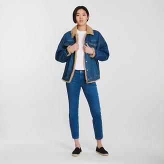 J Brand Drew Faux Sherpa Jacket