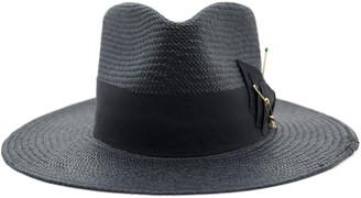 Nick Fouquet Midnight Embellished Straw Hat