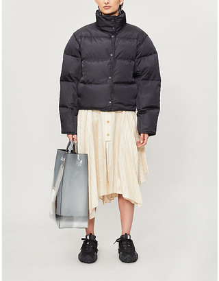 Acne Studios Funnel-neck shell-down jacket
