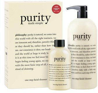 philosophy 'purity made simple' one-step facial cleanser duo (Nordstrom Exclusive) ($86 Value)