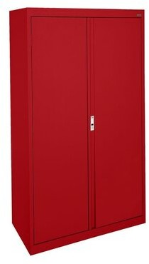 System Series 2 Door Storage Cabinet Sandusky Cabinets Color: White