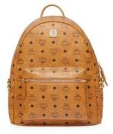 MCM Small Stark Canvas Backpack