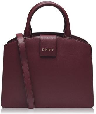 DKNY Clara Leather Satchel Bag