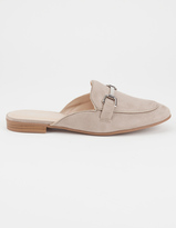 Paprika Solid Womens Mules