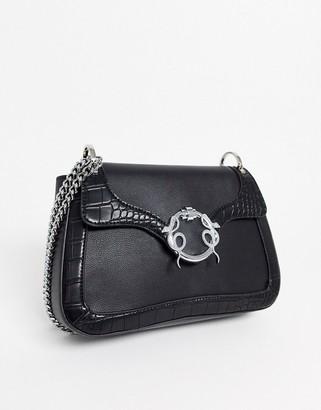 Skinnydip Frieda shoulder bag in black