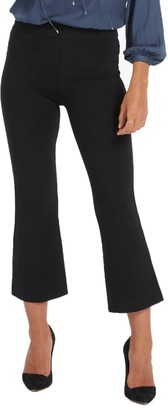 Spanx Cropped Ponte Flare Pants